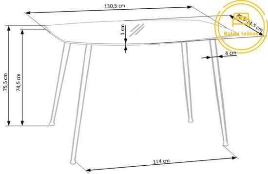 Valgomojo stalas BH0072
