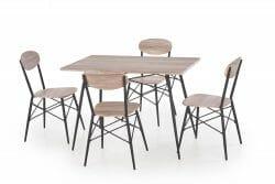 Valgomojo komplektas BH0149 (stalas + 4 kėdės)