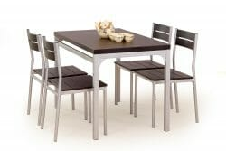 Valgomojo komplektas BH0151 (stalas + 4 kėdės)