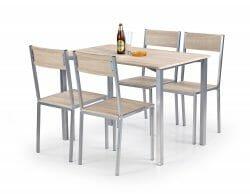 Valgomojo komplektas BH0154 (stalas + 4 kėdės)