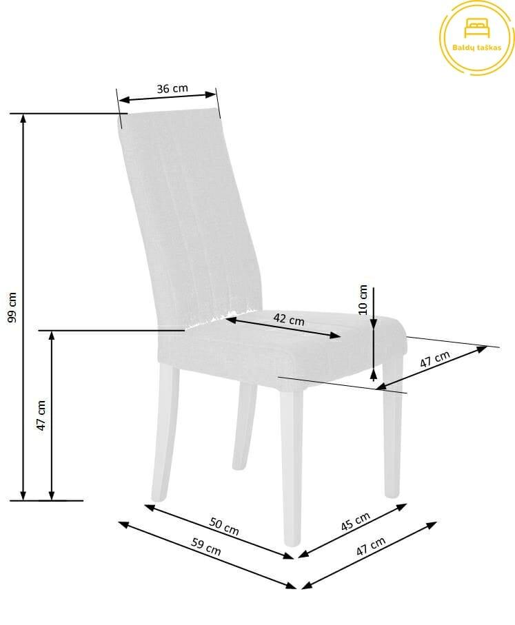 Valgomojo kėdė BH1108
