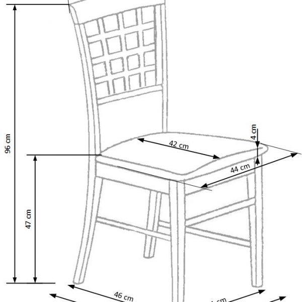 Valgomojo kėdė BH1114