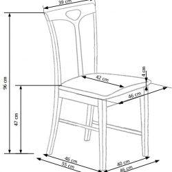 Valgomojo kėdė BH1117