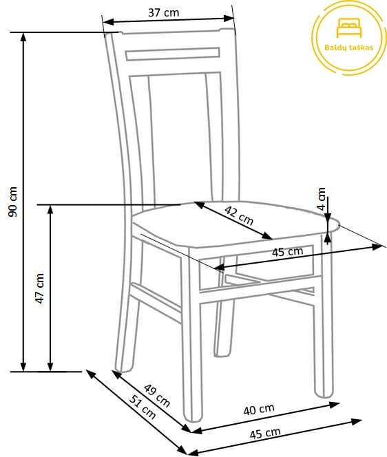 Valgomojo kėdė BH1119