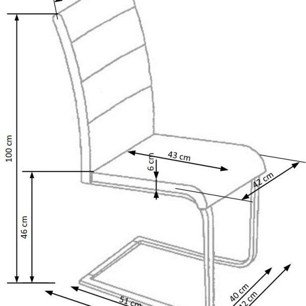 Valgomojo kėdė BH0947