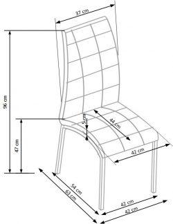 Valgomojo kėdė BH1082