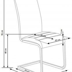 Valgomojo kėdė BH0946