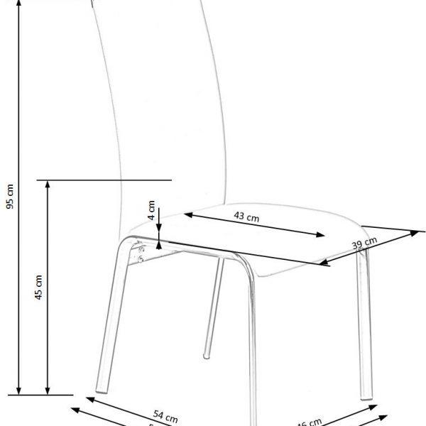 Valgomojo kėdė BH0951