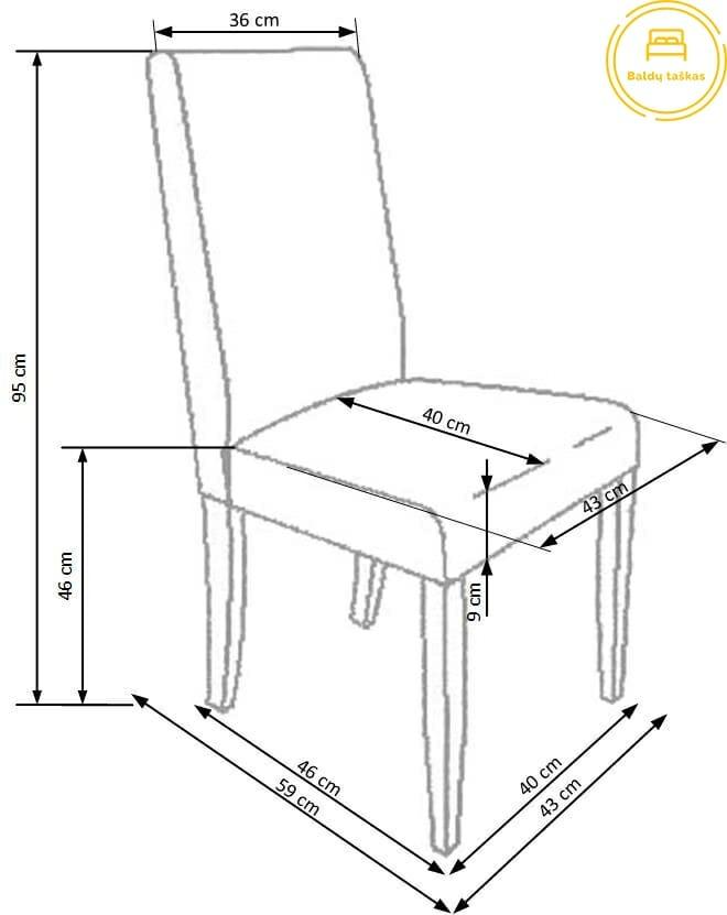 Valgomojo kėdė BH1125