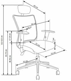 Biuro kėdė BH0860