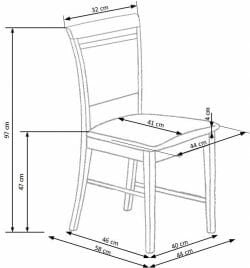 Valgomojo kėdė BH1140