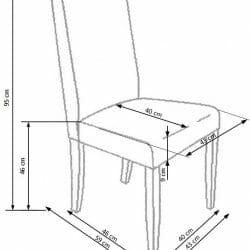Valgomojo kėdė BH1168