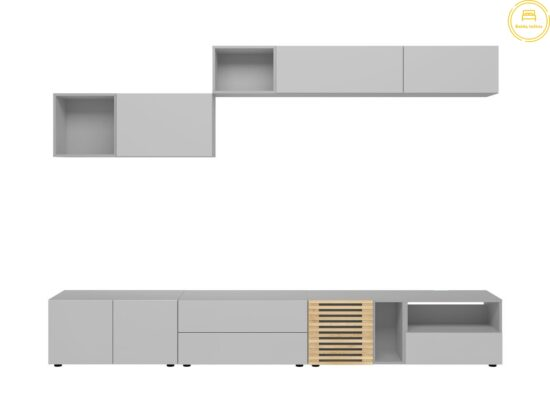 TV stalelis ir pakabinama lentyna BB1247