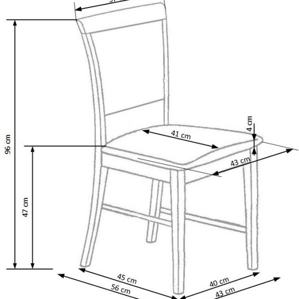 Valgomojo kėdė BH1253